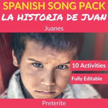 La historia de Juan by Juanes: Spanish Song to Practice th