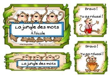 La jungle des mots / vocabulary