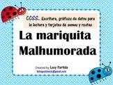 La mariquita malhurada Spanish Bilingual Stars Mrs Partida