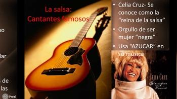 La música y el baile hispano: Spanish music and dance Prezi!