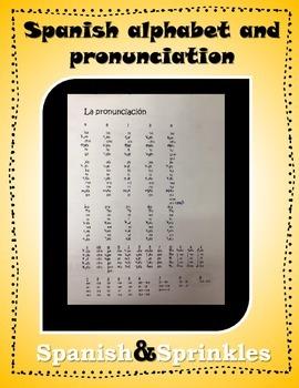 La pronunciación y el alfabeto- how I teach pronunciation