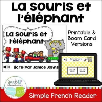 La souris et l'éléphant ~ French Mouse & the Elephant Fabl