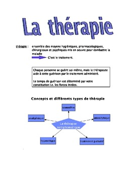 La thérapie