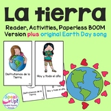 La tierra {Earth Day} Spanish Book & Original Song {en español}