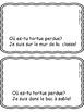 """""""La tortue Tutu"""" (Comptine, mots fréquents, activités de l"""