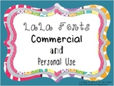 LaLa Fonts {Commercial and Personal Use}