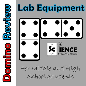 Lab Equipment Domino Review Activity for Review or Assessment