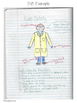 Lab Safety Cartoon and Notebook Activity