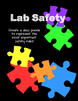 Lab Safety Class Puzzle FREE