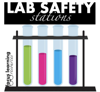 Lab Safety & Lab Equipment Stations {Interactive and Fun!}