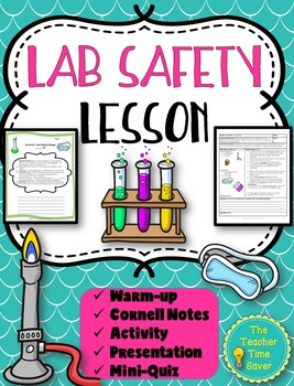 Lab Safety Lesson (PowerPoint, notes, and activity)