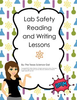 Lab Safety Reading and Writing Lesson