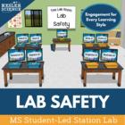 Lab Safety Student-Led Station Lab