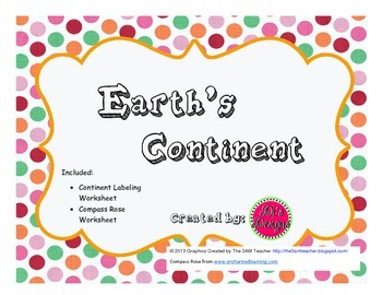 Label Earth's Continents