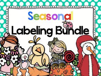 Label It! Seasonal Bundle
