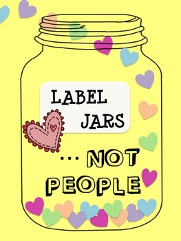 Label Jars, Not People! - Poster!