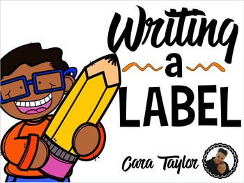 Label Writing Station