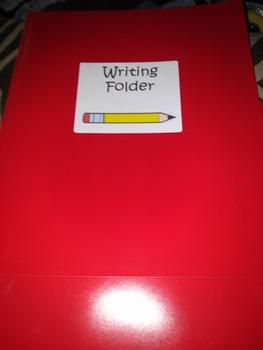 Label for journals and folder
