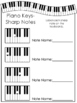 Label the Keys-Music Notes Worksheets. Beginning Piano Mus