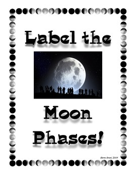 Label the Moon Phases