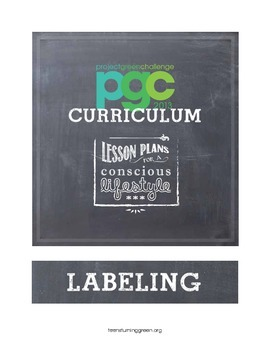 Labeling Lesson Plan