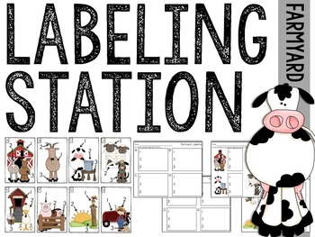 Labeling Station: Farmyard Edition