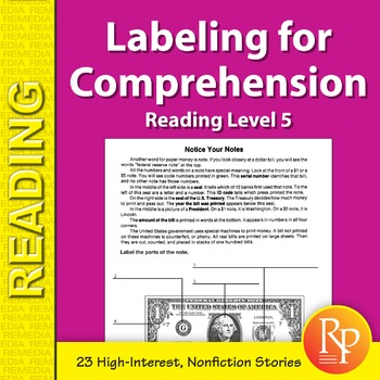 Labeling for Comprehension: Reading Level 5