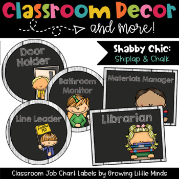 Labels:  Classroom Jobs- Shabby Chic Rustic Wood Chalkboar