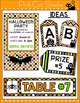 Halloween Decorations - labels for signs, posters and part