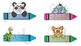 Labels - Name Tags, Desk Tags Pack