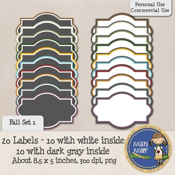 Labels Set 1 - Fall 1