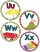 Labels:  Word Wall- Rainbow Watercolor classroom decor