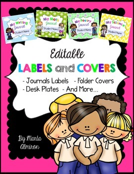 Labels and Covers - EDITABLE