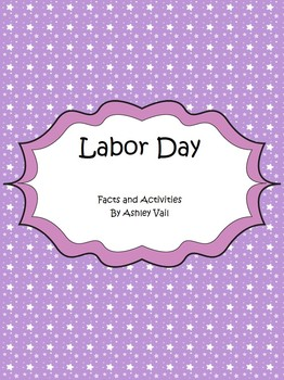 Labor Day: Facts and Activities