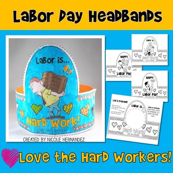 Labor Day - Love the Hard Workers Headbands