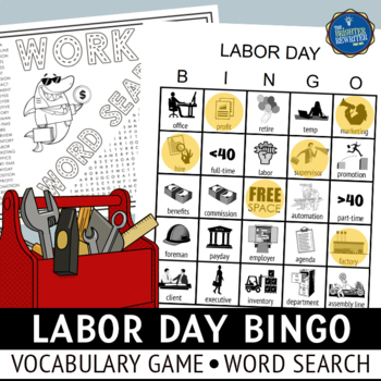 Labor Day Vocabulary Bingo