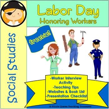Labor Day—Worker Interview Activity