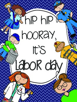 Labor Day activities {Community Helpers and more!}