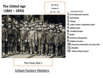 Labor Unions in America: Factory Workers Unite in the Gilded Age