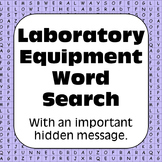 Laboratory Equipment / Science Tools: Lab Equipment Word Search