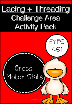 Lacing and Threading Challenge Area Activity Pack