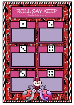 Lady Bird Roll Say Keep - Alphabet Set