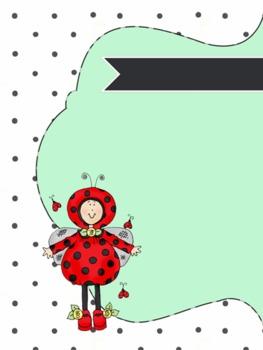 Lady Bug Frame/Border