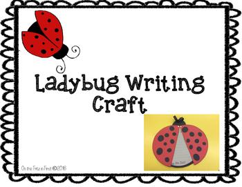 Ladybug Writing Craft