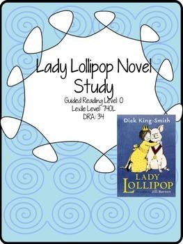 Lady Lollipop Novel Study