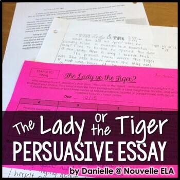 Lady or the Tiger? Argumentative Essay