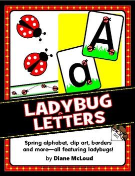 LadyBug Spring Alphabet and Bulletin Board Pack—plus BONUSES!