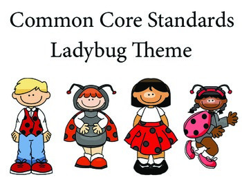 LadyBugKids 2nd grade English Common core standards posters