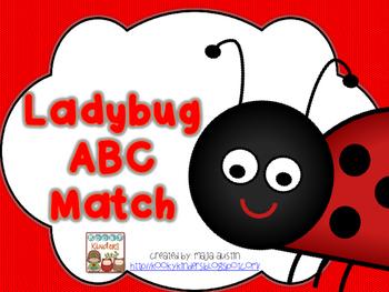 Ladybug ABC Match