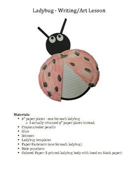 Ladybug - Art/Writing